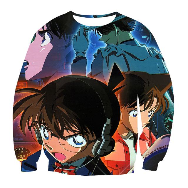 Detective Conan 3D Printed Sweatshirt