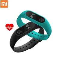Original Xiaomi Mi Band 2 Smart Watch Fitness Tracker OLED Touchpad Sleep Monitor Heart Rate Smart