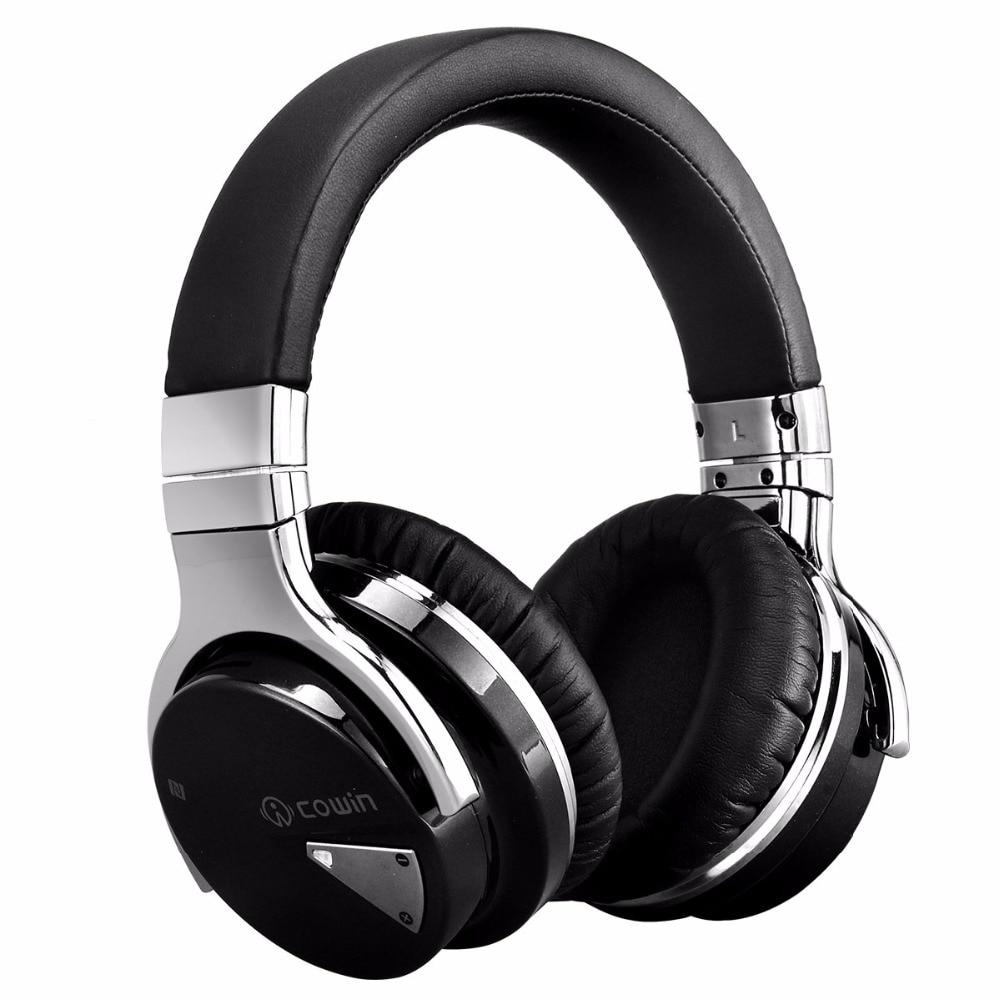 Cowin E-7 bluetooth casque sans fil anc suppresseur de bruit actif casque écouteur over ear stéréo deep bass casque