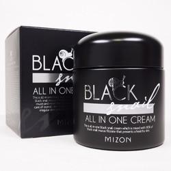 MIZON  BLACK SNAIL All In One Snail Cream 75ml Anti-wrinkle Whitening Moisturize