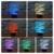 Free envio 3d casa decoração lâmpada dna lâmpada noite levou 7 Mudança de cor Ilusão de Mesa Quarto meninos Miúdo Brinquedo Cafe Bar Deco presentes