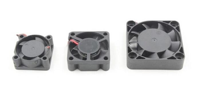RC model car ESC 3010 motor cooling fan for remote control car parts accessories 25*25mm 30*30mm 40*40mm 50*50mm 25mm x 25mm brushless cooling fan for esc motor black