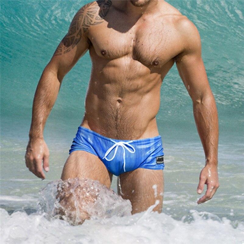 Swimming Trunks Bodybuilding Short Beach 4zg Nino Banador Sexy Men's Fashion