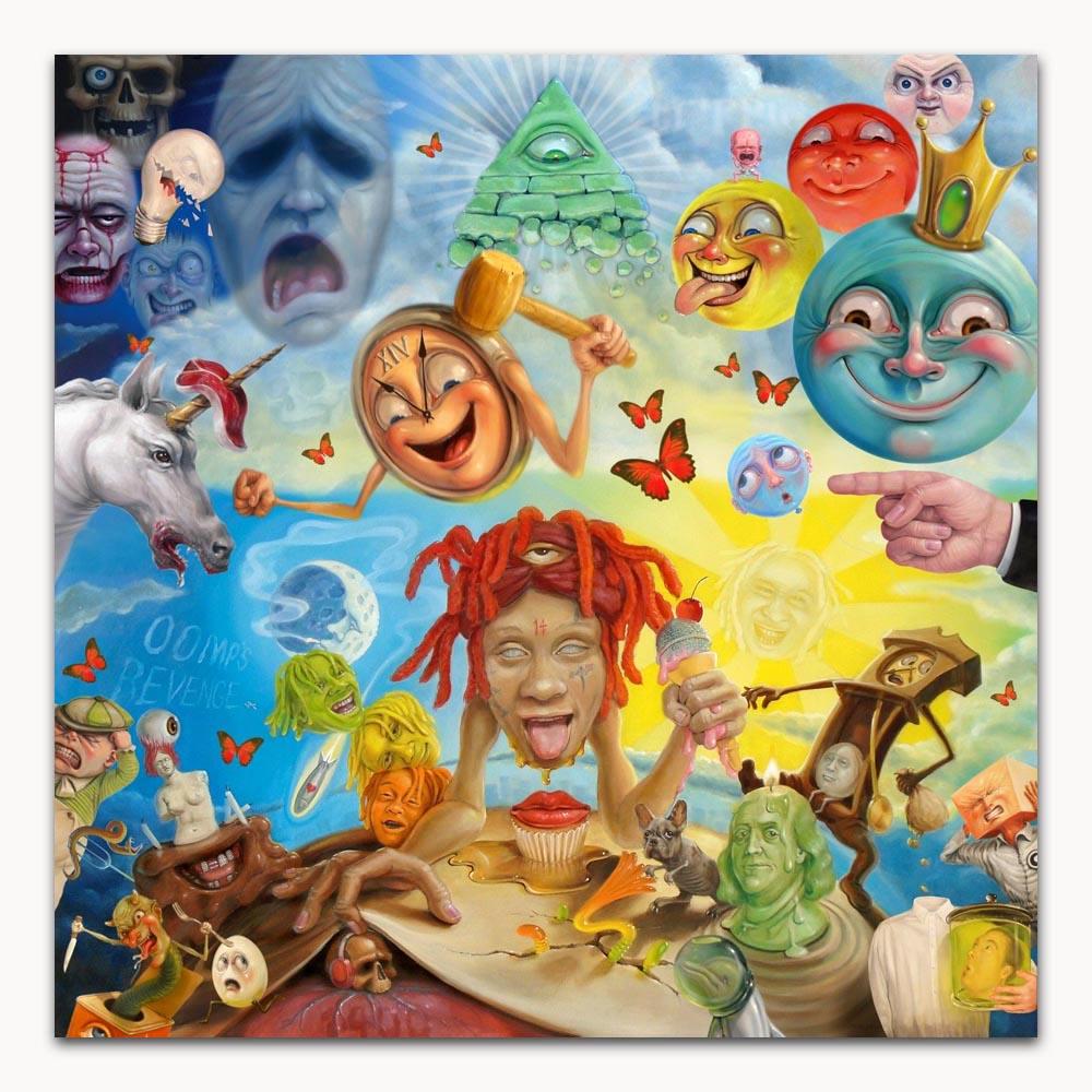 Trippie Redd Life's a Trip Hot 2018 Rap Album Hot Poster K-1377