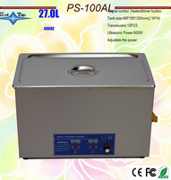 hot sale adjustable power ultrasonic cleaner timer&heater fuction 30L PS 100AL the king of the circuit board ,metal parts