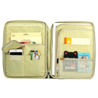 Multifunctional A4 Document Filing Products Pen Bag Box Stationery Storage bag For Notebooks Documents Bag