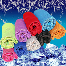 New 100*30cm Summer Quick-dry Sport Towel Microfiber Travel Gym Fitness Towels Ice Cool Towel Chill Cooling Towel Yoga цена 2017
