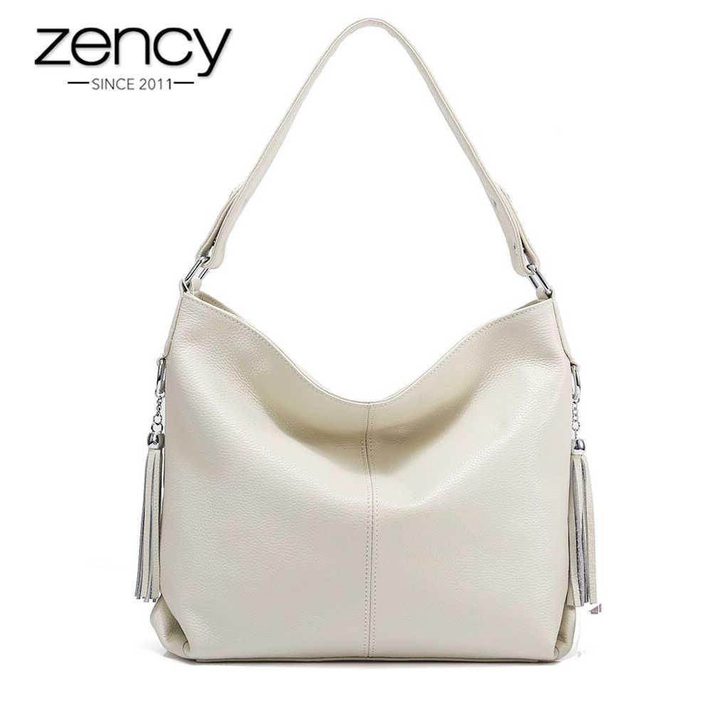 d6d9531bb53a Zency элегантный для женщин сумка 100% пояса из натуральной кожи модные женские  сумки ленточки Шарм