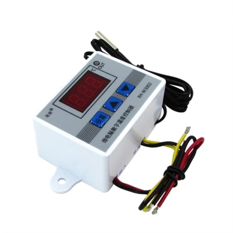Digital LED Temperature Controller Thermostat Control Switch Waterproof Probe$#