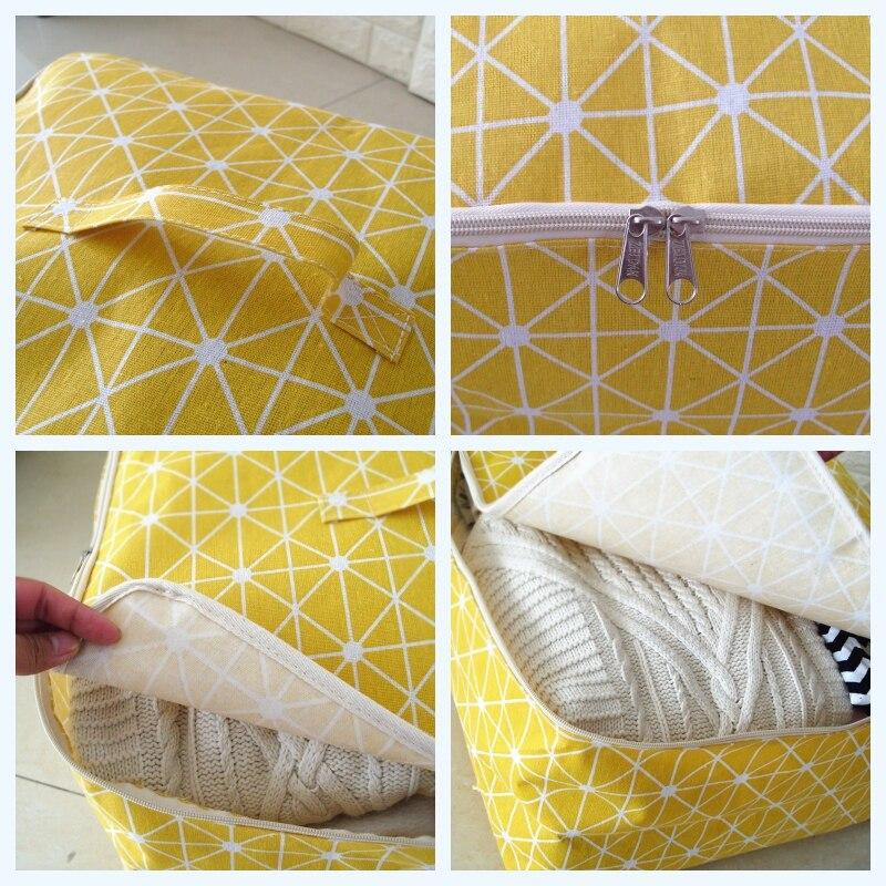 Новый простой Cloest Организатор 1 шт. прочный Storabe сумка Стёганое одеяло Blnket носок вещи контейнер портативный складной шкаф Tidy чехол размеры s, m, l