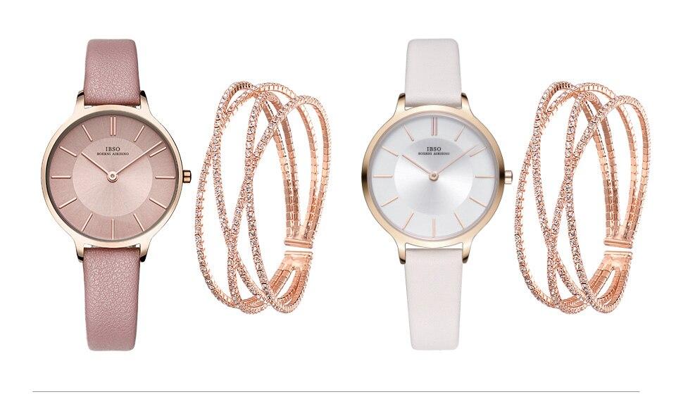 feminino relógio pulseira conjunto para o presente dos namorados