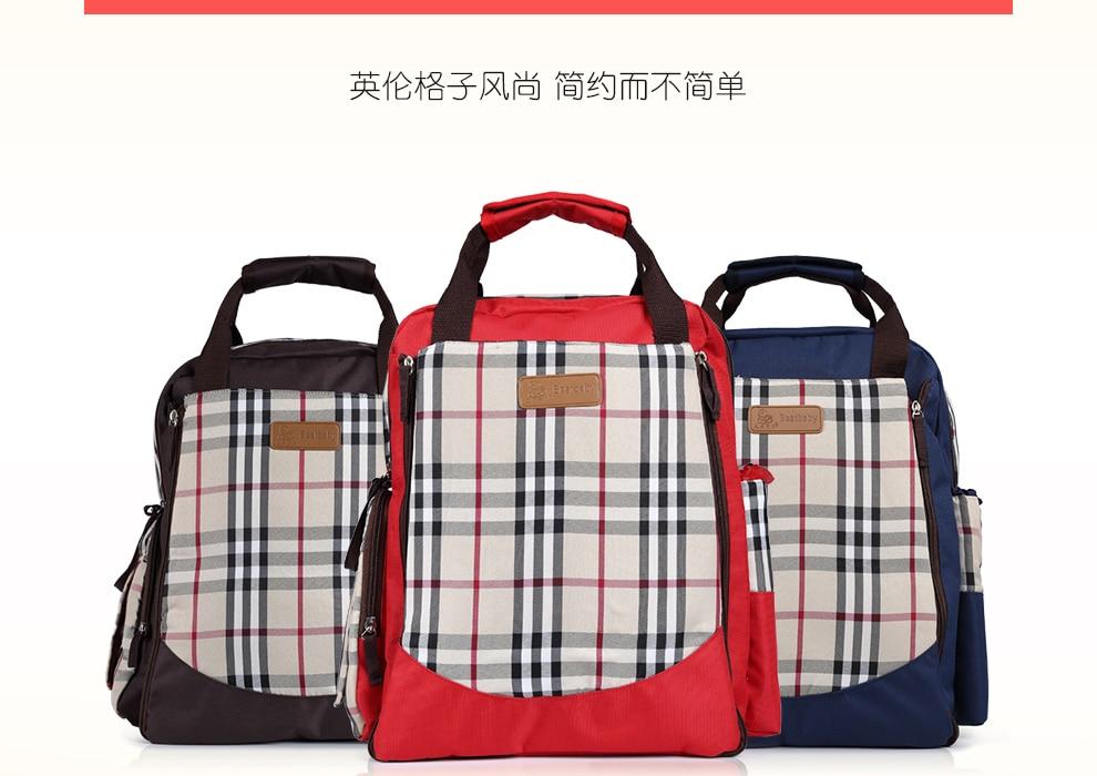 57b30cbef09a 2019 Baby Diaper Bag Backpack Designer Diaper Bags For Mom Mother ...