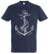 Новая модная брендовая Футболка с принтом мужской бренд якорь Ii Футболка спортивная парусник Sail Skipper тренировочная Фото футболки
