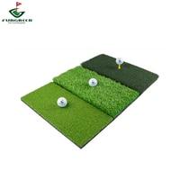 Golf Hitting Mat, Indoor Outdoor Home Tri Turf Golf Hit Mat, Portable Training Fairway , Driving, Chipping, Train