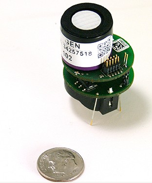 Livraison gratuite GASSENSOREVM prend en charge la faible consommation d'énergie Bluetooth de la plate-forme de capteur de gaz, nouveau original