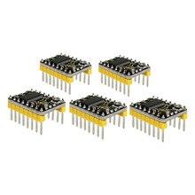 무료 배송! 3 D 프린터 용 5PCS Keyestudio DRV8825 스테퍼 모터 드라이버