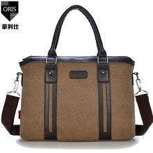 ORIS men's handbags men's messenger bags laptop holders high quality crossbody large capacity single shoulder bag big totes