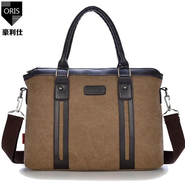 ORIS men s handbags men s messenger bags laptop holders high quality  crossbody large capacity single shoulder bag 048fffa6fbccd