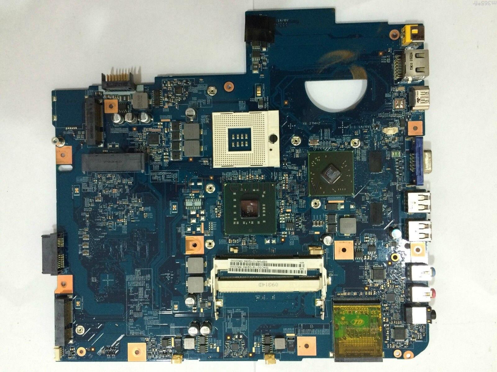 HOLYTIME Scheda Madre Del Computer Portatile Per Acer 5738 JV50-MV 08245-1 MBP5601015 MBPKE01001 48.4CG07.011 GM45 DDR2 HD4500 Testati Al 100% okHOLYTIME Scheda Madre Del Computer Portatile Per Acer 5738 JV50-MV 08245-1 MBP5601015 MBPKE01001 48.4CG07.011 GM45 DDR2 HD4500 Testati Al 100% ok