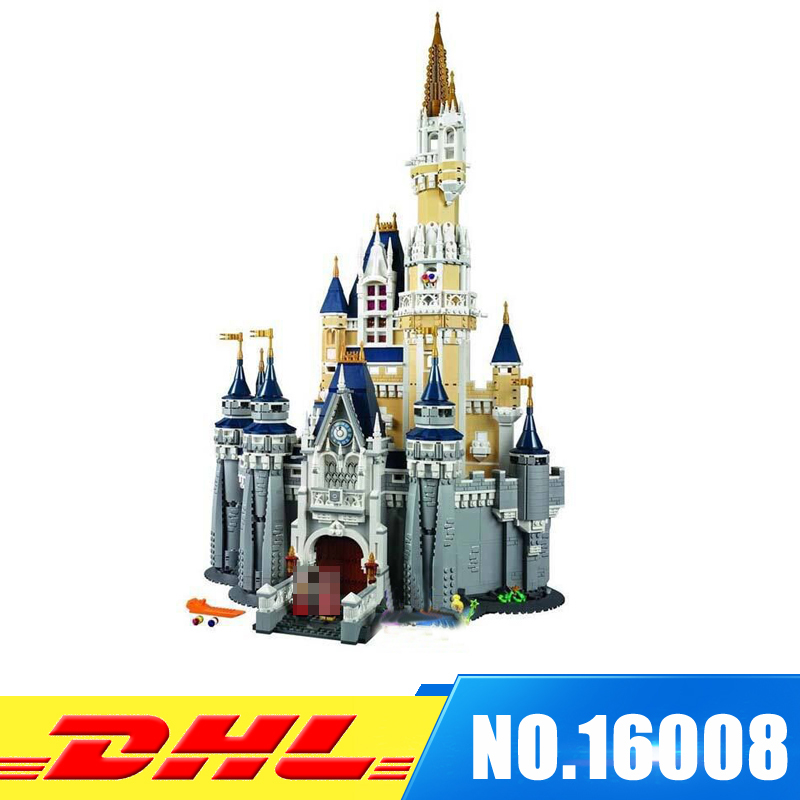 Clone 71040 LEPIN 16008 Cinderella Princess Castle City set 4080pcs Model Building Block Kid DIY Toy Funny Birthday Gift la mer collections lmhcw2005a
