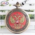 Туризм сувенир иностранных друзей подарок настольный Флаг России знаковых механических карманные часы B105