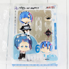 Anime 10cm Life In A Different World From Zero Rem Action Figure Nendoroid Rem Doll PVC