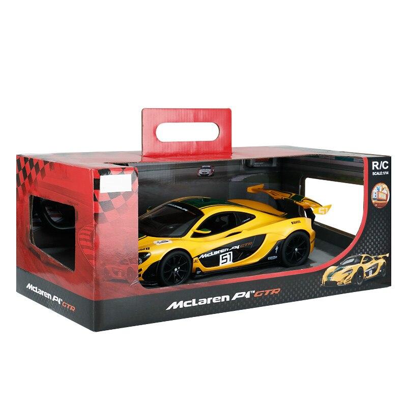 1:14 voiture télécommandée pour Mclaren P1 GTR Version de course Supercar sport de luxe voiture RC modèle adulte enfant jouet pour garçons enfant cadeau - 5