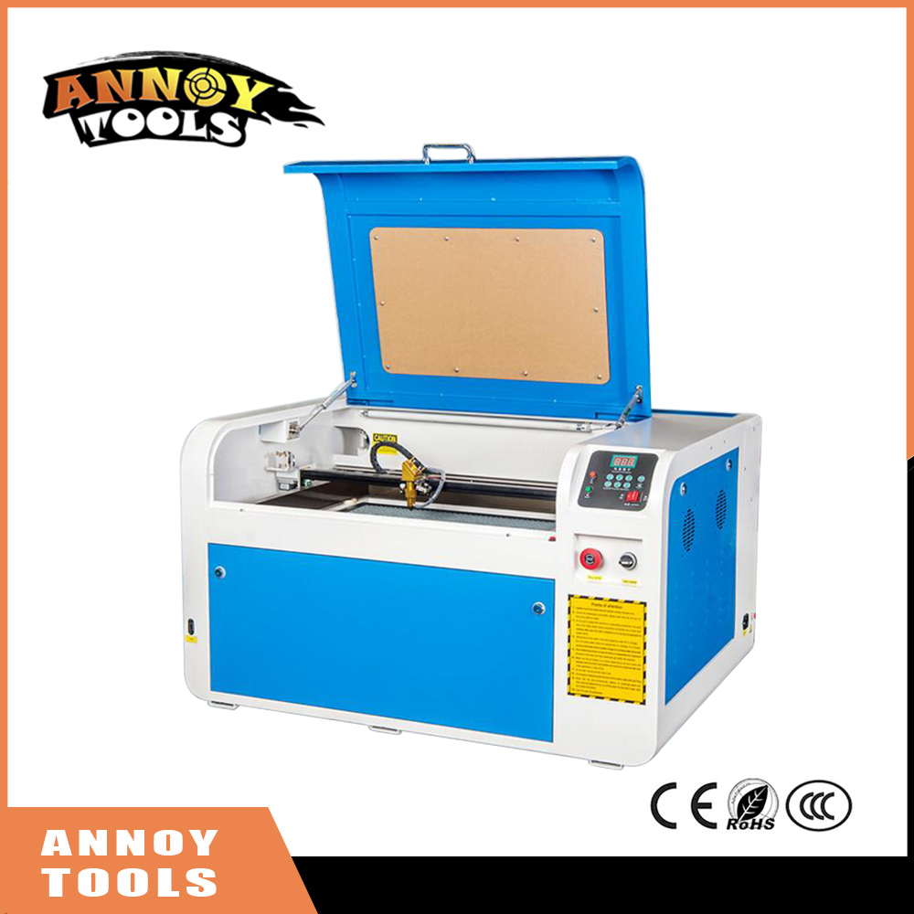 Free Shipping No Tax For Russian 40W/60W/80W/100W Co2 USB 4060 Laser Cutting Machine With offline control system Laser Engraver