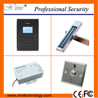 Standalone smart access control system free software 10000 card capacity magnetic lock checp SC403 door controller