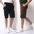 OONU 2016 Hot Summer Men's Army Cargo Work Casual Bermuda Shorts Men Fashion Joggers Overall Squad khaki Trousers Plus size