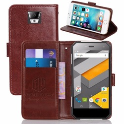 GUCOON Vintage Wallet Case for Nomu S10 5.0inch PU Leather Retro Flip Cover Magnetic Fashion Cases Kickstand Strap