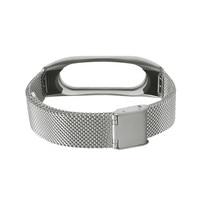 отличное качество металлический ремешок для сяо ми miband 2 нержавеющая сталь браслет напульсники заменить для ми группа 2 челнока #01