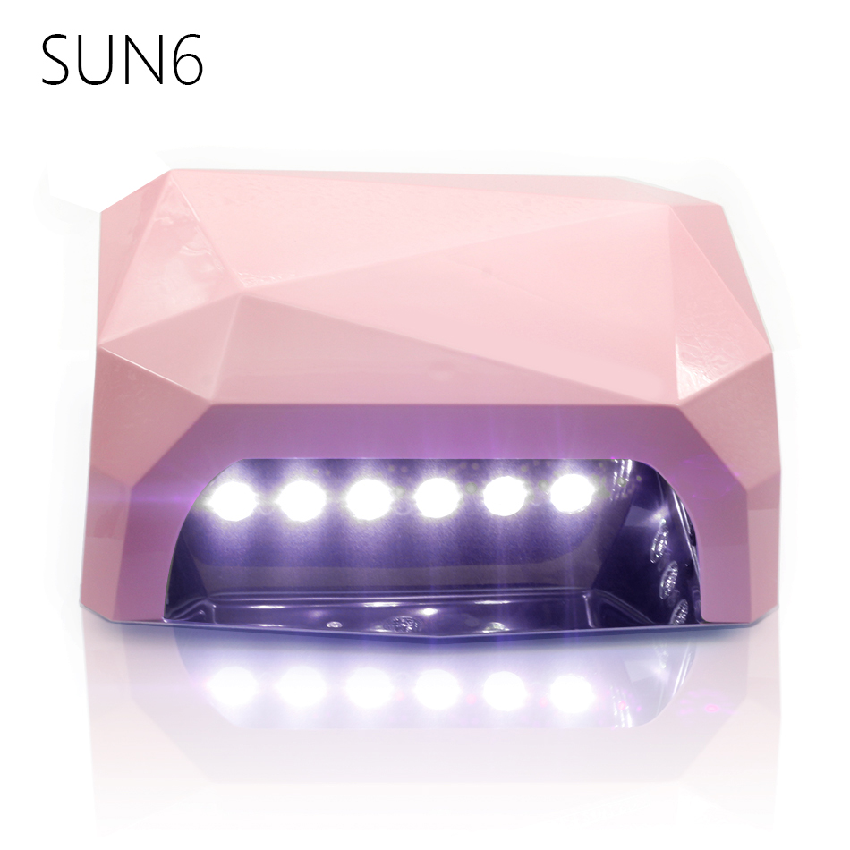 ФОТО SUN6-36W Auto Sensor UV LED Lamp Nail Dryer SUN Light 365-405nm XXXXX6