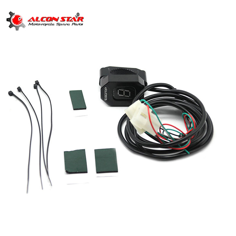 Alconstar Motorcycle Gear Indicator For Aprilia RS125 RSV4 ETV 1000 Caponord Moto Display Ecu Direct Mount 6 Level Display