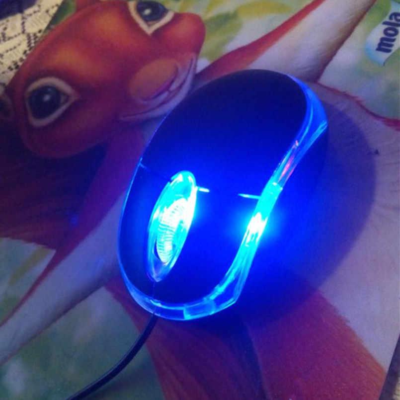 2019 Gaming Mouse 1200 Dpi USB Kabel Optik Mouse Gamer Mouse untuk PC Laptop Komputer Mouse Gaming Raton Ordenador