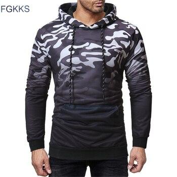 96e4327e5c3c7 FGKKS Yeni Marka Erkek Giyim 2019 Sonbahar erkek Hoody Kazak Casual Hoodie  Kazak Erkek Hoodie Üst