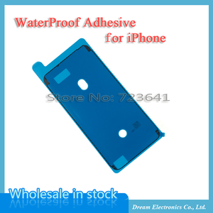 Image 1 - 50pcs/lot Waterproof Adhesive Sticker For iPhone 6S 7 8 Plus X XR XS 11 Pro Max Pre Cut Glue Front Housing Screen LCD Frame Tape