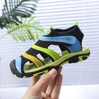 Boys sandals 2019 new girls Korean version of the summer caterpillar children's shoes breathable baby big children