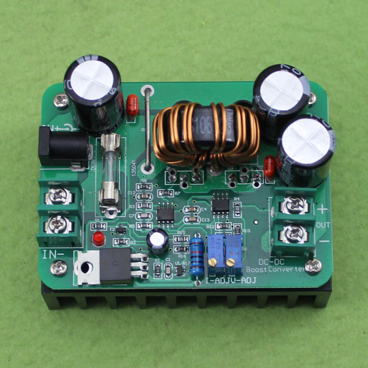 Boost Converter Step-up Module Mobile Power Supply DC-DC 600W 15A IN 12-60V OUT 12-80V DC Model For Laptop High Efficiency 95% dc dc converter step up boost module 3v to 5v boost circuit board 3a