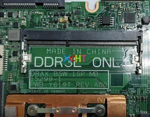Image 3 - Для Dell Inspiron 3168 CN 0J71V9 0J71V9 J71V9 15299 1 PWB: Y619T w N3710 CPU DDR3L материнская плата для ноутбука