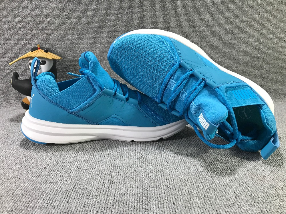 Free delivery PUMA Trinomic Blaze Men's shoes Breathable Sneakers Badminton Shoes free delivery new arrivals puma jogger series new type of new type of light badminton shoes