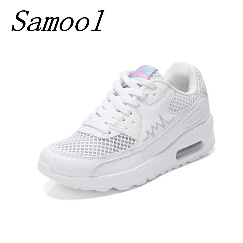 2018 brand mesh breathable Summer shoes women lace up casual Shoes ultralight flats platform New zapatillas Slipony Shoes jx3 huanqiu women mesh shoes casual lace up summer ladies flats white shoes breathable candy colors woman shoes 6e04