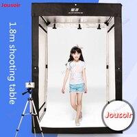 Светодио дный одежды Studio таблице 180 см softbox фото модели световой короб для фотосъемки одежный комод сцены фотография сарай CD50 T03