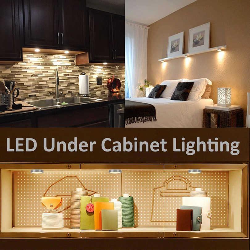 1 шт. диммируемая 2,5 Вт DC12V светодиодная подсветка под шкаф домашний кухонный шкаф Дисплей Чехол светодиодный шайба светильник s светодиодный светильник без водителя