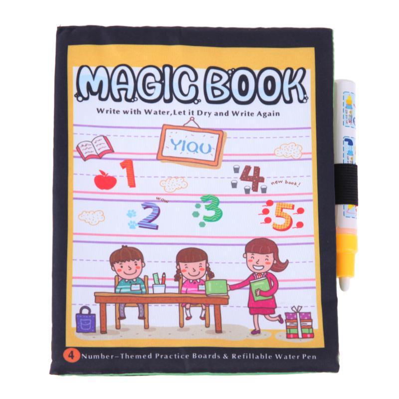 Cheap 3 Temalar Numarası Boyama Sihirli Kitap Boyama Doodle Kalem