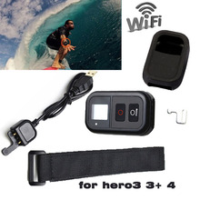 """GoPro Wifi del Mando a distancia 0.8 """"LCD Inteligente Wi-Fi Remote Controller Set para GoPro go pro Accesorios Hero 4 hero 3 hero3 + hero3"""