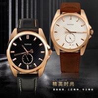 356 YAZOLE Small Three Stitches Men Quartz Watch Men Wrist Watches