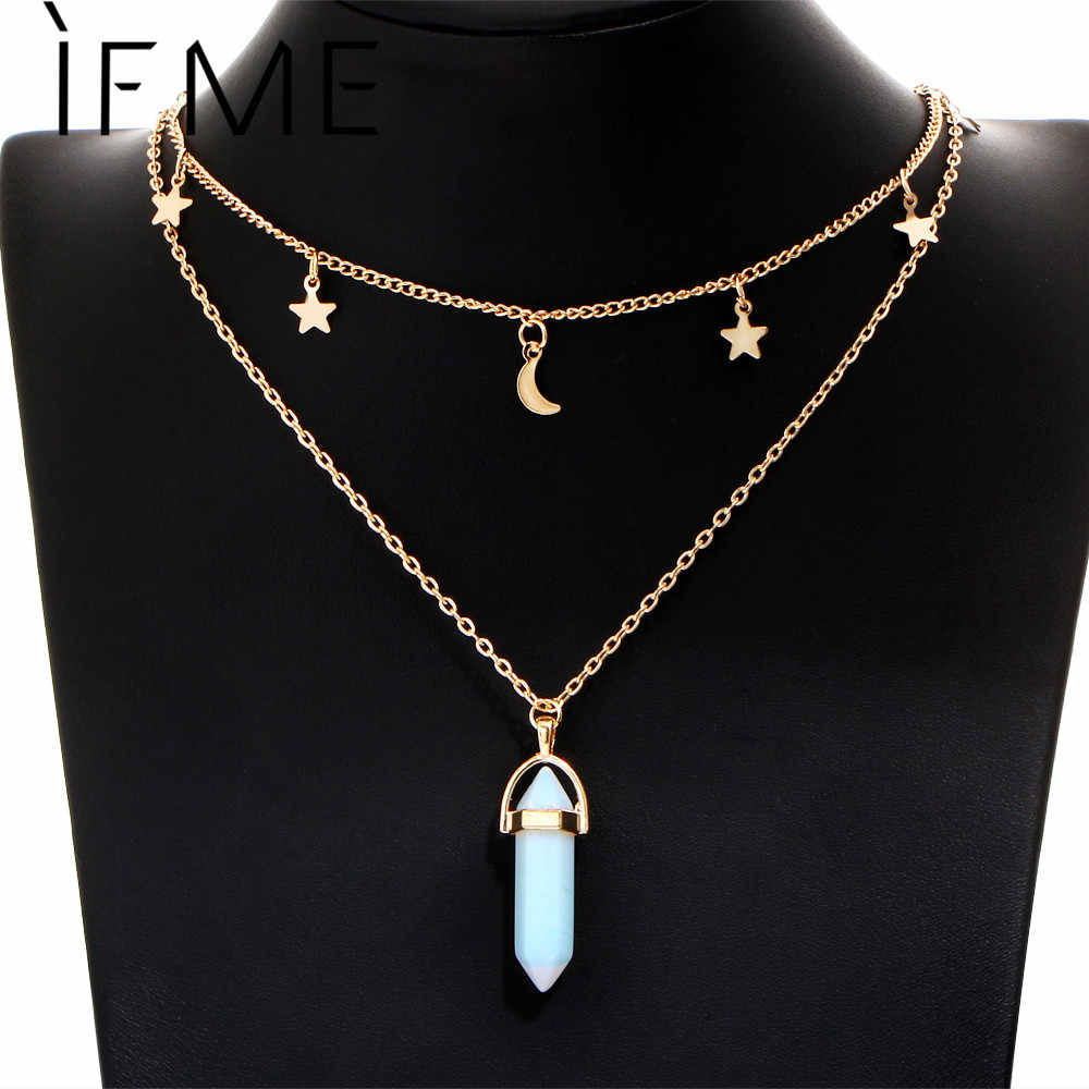 5fe108ed41f3d Detail Feedback Questions about IF ME Fashion Natural Opal Stone ...