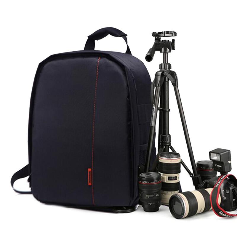 Camera Backpack DSLR Bag For Canon 1300D 800D 760D 77D 200D 5D 6D Mark II 750D Nikon D810 D5300 D3300 D90 D3400 D7200 Camera Bag huwang multifunction dslr camera backpack bag case for nikon d7200 d7100 d5300 d3400 d90 sony a7 ii iii canon 750d 200d lens bag