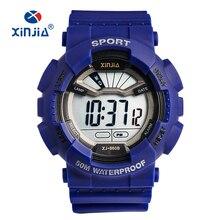 XINJIA 2020 New Big Waterproof Digital Watch Electronics